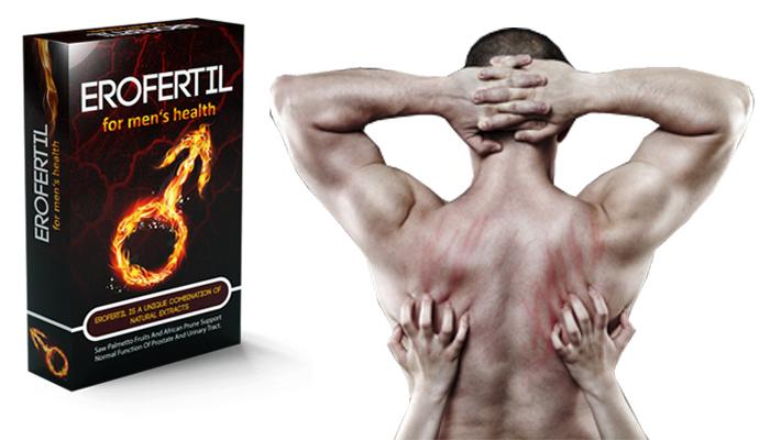 Erofertil para a potência: remédio natural para melhorar a força masculina
