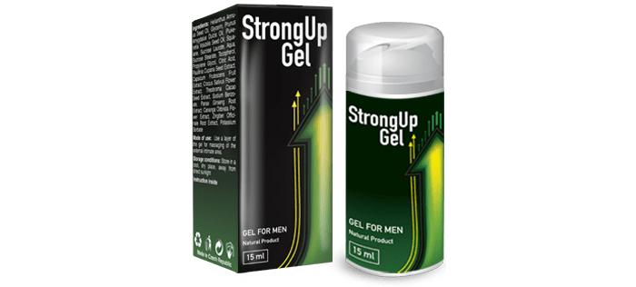 StrongUp Gel para a potência: e você é o melhor no sexo