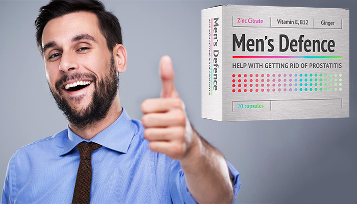 Men's Defence: tratamento profissional para prostatite
