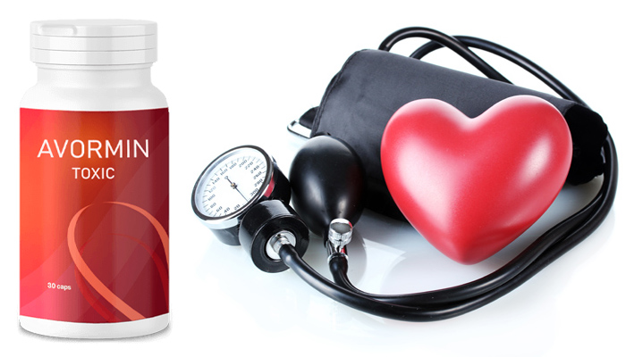 AVORMIN Toxic contra hipertensão: a pressão torna-se normal desde o primeiro uso e para sempre