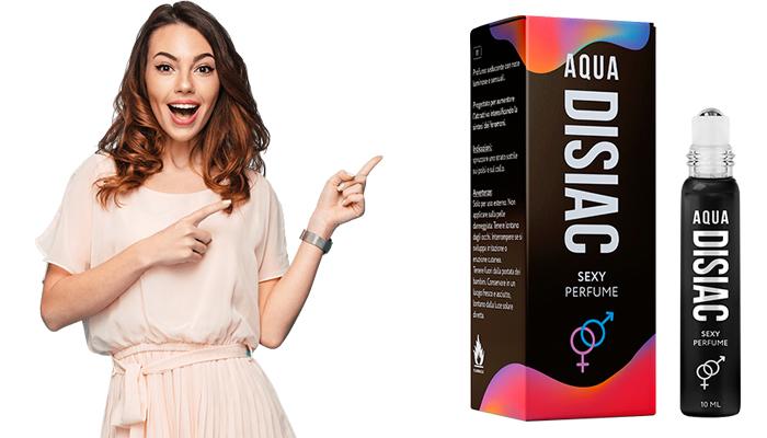 Aqua Disiac: é um produto que ajuda a aumentar imediatamente a excitação sexual
