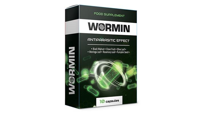 WORMIN de parasitas: libera o corpo de todos os tipos de parasitas!