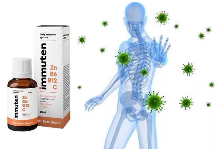 Immuten para a imunidade: proteção confiável contra infecções e vírus!