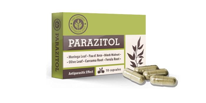 PARAZITOL parasitas: total de purificação do corpo por 1 curso!