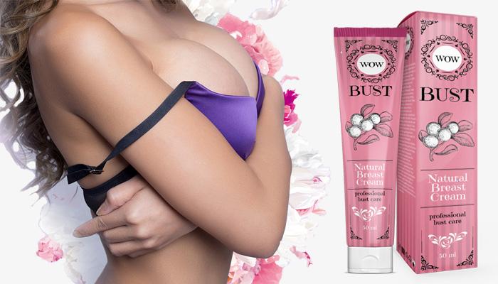 WOW BUST para aumento do peito: formula inovadora para cuidar e aumentar o tamanho dos seios!