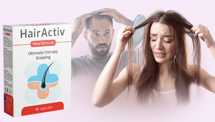 HairActiv para crescimento de cabelo e unhas: unhas saudáveis, cílios longos, sobrancelhas bonitas e cabelos grossos