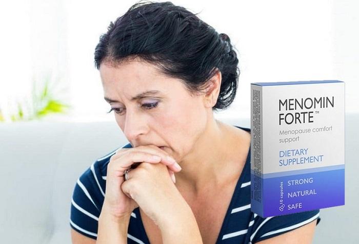 Menomin Forte com a menopausa: o período de clímax não pode ser evitado, mas você pode vivê-lo confortavelmente!