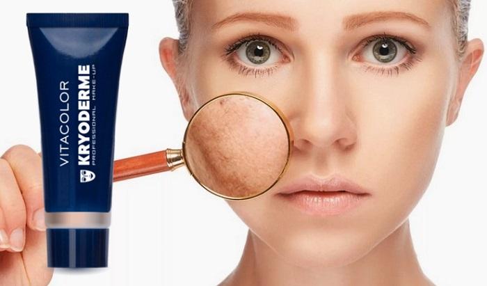 Kryoderme BASE DE MAQUIAGEM: perfeito para todos os tipos de pele!