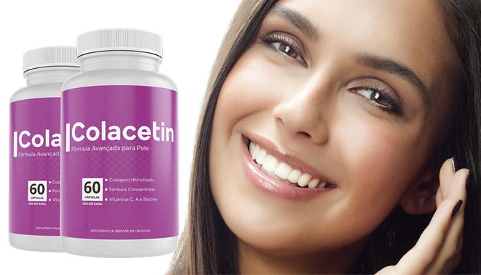 Colacetin para o rejuvenescimento da pele: deixa a pele lisinha e com aparência saudável