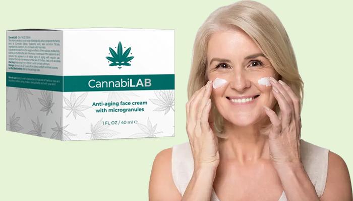 CannabiLAB anti-rugas: creme para rejuvenescimento no nível celular
