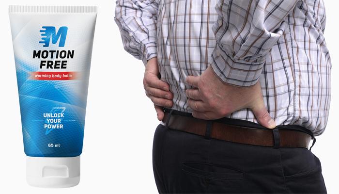 Motion Free para articulações: tem um poderoso efeito anti-inflamatório