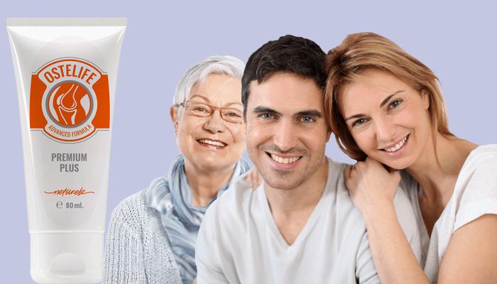 Ostelife Premium Plus para articulações: restaura a destruição das articulações e faz desaparecer as dores
