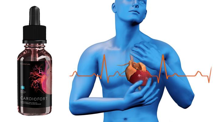 CardioFort contra hipertensão: tensão arterial normal desde a primeira ingestão