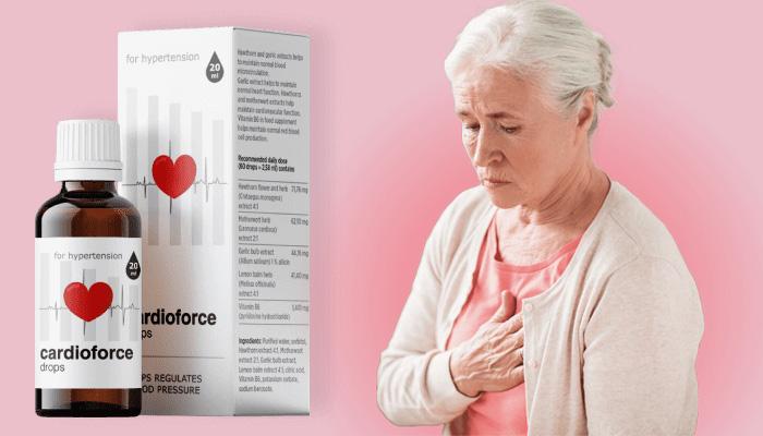 Cardioforce contra hipertensão: normaliza naturalmente a pressão