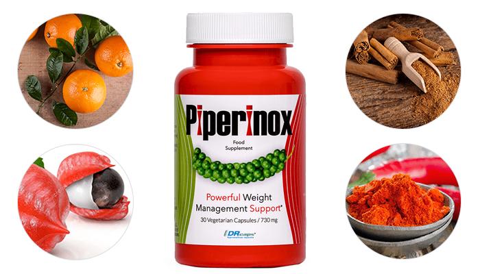 Piperinox para perda de peso: toma medidas e atinge uma figura de sonho!