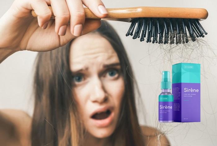Le Clere Sirene da perda de cabelo: medicamento № 1 na luta contra a calvície!